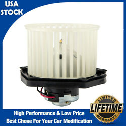 Heater Blower Motor W/ Fan Cage For Chevy Gmc Cadillac Pickup Truck High Quality