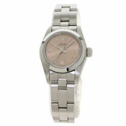 Rolex Oyster Perpetual Watches 67180 Stainless Steel/stainless Steel Ladies