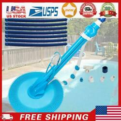 Swimming Pool Automatic Cleaner Clean Inground Above Ground Pool Vacuum Hose Set