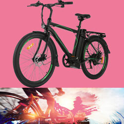 Variable Speed Electric Mountain Bicycle With Removable Lithium Battery