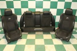 17and039 Charger 392 Superbee Black Leather / Suede Seats Heat Cool Buckets Backseat