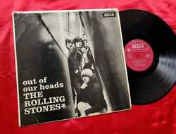 Rolling Stones Out Of Our Heads 7b Mono Uk 1st Press Lp 1965 Decca Lk4733 Record
