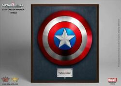King Arts Avengers Captain America Shield 1/1 Scale Alloy New
