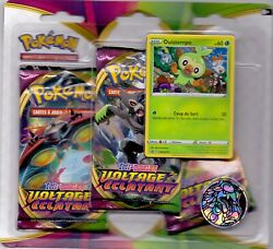 Pokemon Pack 3 Boosters Epee Et Bouclier Voltage Eclatant Promo Ouistempo