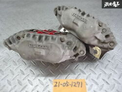 Mazda Genuine Fc3s Rx-7 Rx7 Front Brake Calipers Left And Right Sets Pots With