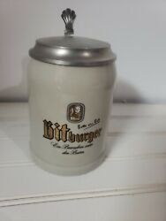 bitburger Beer Stein Made In Mug - Never Used Father Day Gift