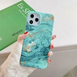 Turquoise Gold Marble Case