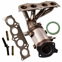Exhaust Manifold W/catalytic Converter For Toyota Camry L4 2.4l 02-06 250510h010