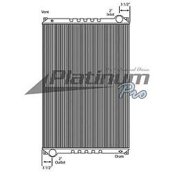 Ref A0520667000 Freightliner Condor 0 Radiator Assembly Key Hdc010143