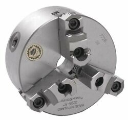 8 Bison 3 Jaw Lathe Chuck Direct Mount D1-4 Spindle