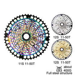 Rainbow Mtb Bicycle Cassette 11s 12speed 9-50t Mountain Bicycle Sprocket 12v K7
