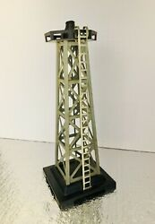 """Vintage - """"marx Beacon Light Tower"""" - Model Railroad accessory - Bulb Tested"""