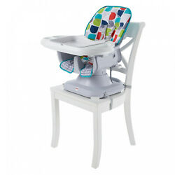 New Soft Infant Baby High Chair Fits On Most Dining / Restaurant Chairs