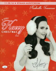 Kacey Musgraves Signed Autograph 11x14 Poster Photo A Very Kasey Christmas Jsa