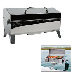 Portable Boat Gas Grill Mountable Sailboat Marine Bbq Barbecue Outdoor Camping