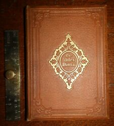 1854 The Wifeand039s Manual Rev W Calvert 1st Edition Prayers Songs Matronand039s Life