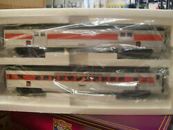 Brand New Mth O Scale Premier 20-69299 New Haven 2 Car Baggage And Coach Set