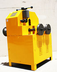 Electric 1500w Pipe Tube Bender Multi Function Bending W/9 Round And 8 Square Dies