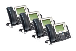 Cisco 7942g Two Line Unified Ip Phone, Cp-7942g, Four Pack, Lifetime Warranty
