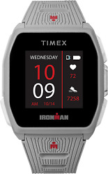 Timex Ironman R300 Gps Smartwatch With Heart Rate 41mm Light Gray