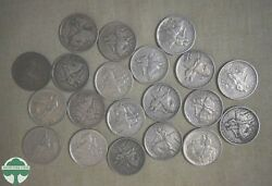 Full Roll Of 20 - 1925 Stone Mountain Half Dollars Vf To Au