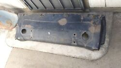 1930-1931-1932 Chrysler Imperial Rear Fuel Tank Apron Nice Solid Part