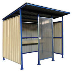 Grainger Approved 49p402 Smokers Shelter,91inhx100-3/8inwx96ind