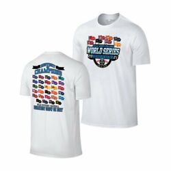2021 Men#x27;s College World Series CWS 8 Team Flags History of Champions T Shirt