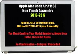 Macbook Air A1466 Early 2015 Emc2925 13.3 Lcd Screen Display Complete Assembly