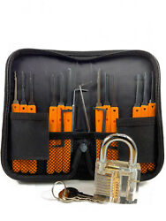 Professional Stainless Steel 17 Piece Set With Lock And Key