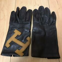 Sale Leather Gloves Hermes From Japan Fedex No.8939