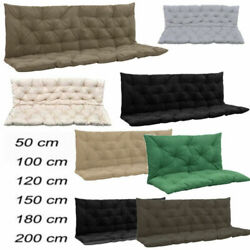 Replacement Cushion For Garden Swing Chair Bench Seat Backrest Furniture Mat