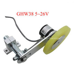 Ghw38 Series Rolling 5v Driver Output Rotary Encoder 200mm Anti-skid Wheel