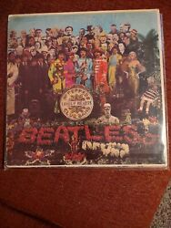 The Beatles Sgt Pepper Lonely Hearts Club Band 1967 Mas2653 1st Us Press Mono Lp