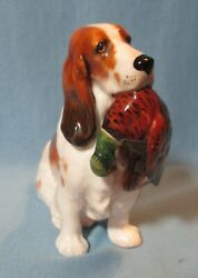 Royal Doulton Brittany Spaniel With Pheasant Figurine Hn1029