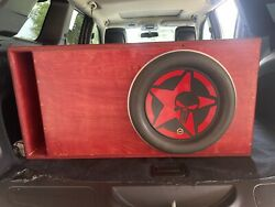 Jl Audio W7 13.5 Subwoofer Only.