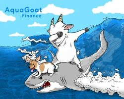 2 Trillion Aquagoat Finance - Mining Contract Crypto Currency