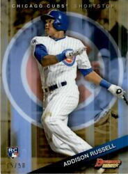 2015 Bowmanand039s Best Gold Refractors 6 Addison Russell