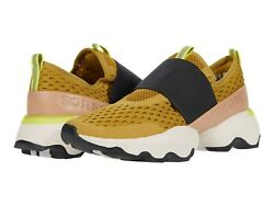 Sorel Kinetic Impact Strap Womens Dioxide Gold Yellow 236 Mesh Sneakers Shoes