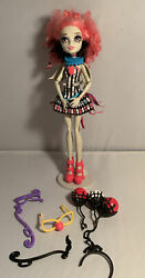 Monster High Freak Chic Rochelle Circus Doll With Some Accessories