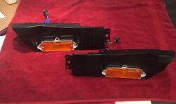 1965 Impala Front Turn Signals Housings And Brackets