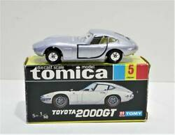 Tomica Black Box No.5-1 Toyota 2000gt 1d Wheels With Navel