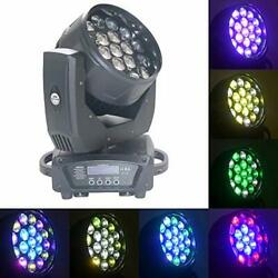 19x15w Zoom Beam Wash Moving Head Light For Stage Lighting Effect With Rgbw