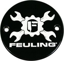 Feuling Gear Cross Wrench Points Cover Black 9133 Harley Davidson