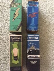4x Vintage Collector Tubes
