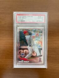 2013 Topps Chrome Update Mike Trout Mb-9 Gem Mint Psa 10 Very Rare Low Pop