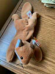 Vintage New Nwt Rare 1996 Sly Ty Beanie Baby Babies Fox 4115andnbsp