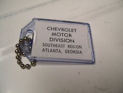 Vintage 1960and039 S Chevrolet Accessories Nos Promo Auto Key Holder Car Old Part Fob