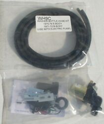 Washer Kit New W/pump 70-74 E 71-72 B Body With Nozzles