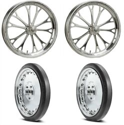 Weld Racing 84p-17000k2 Weld Racing V-series Wheel And Tire Kit Includes 2 An